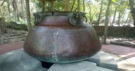 শিবচরের প্রাচীন নিদর্শন বিশালাকৃতির ডেগ