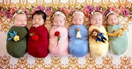 সাত মাসের মাথায় একসঙ্গে ছয় সন্তানের জন্ম