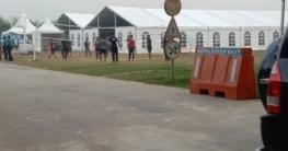 রোহিঙ্গাদের ভাসানচরে পাঠাতে অস্থায়ী ট্রানজিট পয়েন্ট স্থাপন