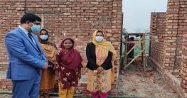প্রধানমন্ত্রীর উপহারের ঘর বরাদ্দ পেয়ে মর্জিনার মুখে হাসির ঝিলিক