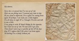 দ্বিতীয় বিশ্বযুদ্ধের সময় প্রেমিকাকে লেখা চিঠি পৌঁছায়নি আজও