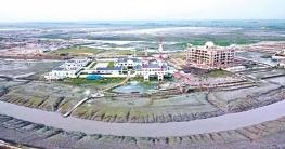 বঙ্গোপসাগরের মাটি দিয়ে তৈরি হচ্ছে বঙ্গবন্ধু শিল্প নগর